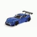 BMW Z4 GT3  Blauw  Blue 1/18