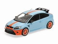 Ford Focus RS 2010 Le mans Classic edition Blauw Blue Gulf 1/18