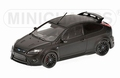 Ford Focus RS 500    Zwart matt Black 2010 1/18