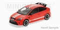 Ford Focus RS 2010 Rood Red Le Mans Classic edition 1/18