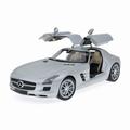 Mercedes Benz SLS AMG Zilver matt Silver 1/18