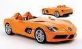 Mercedes Benz SLS Mc Laren Stirling Moss Oranje Orange 1/18