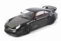 Porsche 911 GT2 RS 2011 Zwart Black met zwarte velgen 1/18