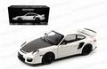 Porsche 911 GT2 RS 2011 Wit White met zwarte velgen 1/18