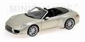 Porsche 911 Carrera S Cabriolet 2011 Zolver Silver 1/18