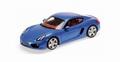 Porsche Cayman Blue metallic Blauw 2013 1/18