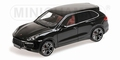 Porsche Cayenne Turbo S 2012 Zwart metallic Black 1/18