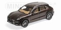 Porsche Macan Turbo 2013 Bruin metallic Brown 1/18