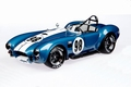 Shelby Cobra 427 S/C Racing version # 98 Blauw Blue  1/18