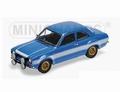 Fod Escort I RS 1600 FAV 1970 Blauw Blue white stripes 1/18