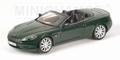 Aston Martin DB9 Convertible Cabrio Groen Green 1/18