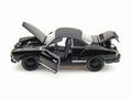 VW Volkswagen Karmann Ghia Black Bandit Zwart 1/18