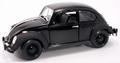 VW Volkswagen Beetle Kever Black Bandit Zwart 1/18