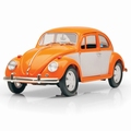 Volkswagen Kever Beetle  Oranje -wit  Orange -White 1/18