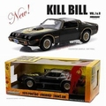 Elle's 1979 Pontiac Firebird Trans am Kill Bill Zwart Black 1/18