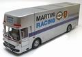 Mrecedes Benz Martini Racing Renntransporter Porsche 1/18