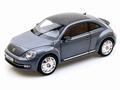 VW Volkswagen Beetle Kever Coupe Grijs platium Grey 1/18