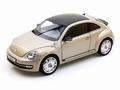 VW Volkswagen Beetle Kever Coupe Zilver Moon rock silver 1/18