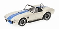 Shelby Cobra 427 S/C Wit Blauw  White Blue 1/18