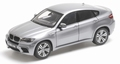 BMW X 6 M  Grijs  space Grey 1/18