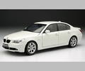 bmw 545 i Sedan Wit  White  1/18