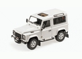 Land Rover Defender 90 Wit  Fuji White  1/18