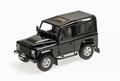 Land Rover Defender 90 Zwart santorini Black 1/18