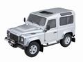 Land Rover Defender 90 Zilver Indus Silver 1/18