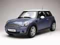 Mini Cooper Blauw  Blue  1/18