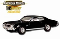 Buick 1970 GS Stage 1 Zwart  Black 1/18