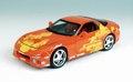 Mazda RX7 1994 Fast and the Furious Oranje Orange 1/18