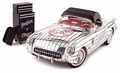 Chevrolet Corvette 1953 Wit White Cabrio + soft top  1/18