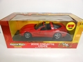 Chevrolet Corvette 2003 Cabrio Rood Red + dak panelen 1/18