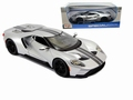 Ford GT 2017 zIlver Silver  1/18