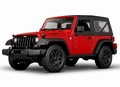 Jeep Wrangler 2014 Willys Rood Red cabrio + softtop 1/18
