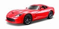 Dodge Viper 2013 SRT GTS Rood Red 1/18