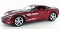 Chevrolet Corvette Stingray 2014  C7 Rood Red 1/18