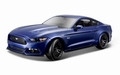 Ford Mustang 2015 Blauw  Blue 1/18