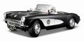 Chevrolet Corvette 1957 Police State Highway Patrol  Politie 1/18