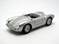 Porsche 550 A Spyder Cabrio Zilver  Silver 1/18