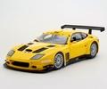 Ferrari 575 GTC Evolutione Geel  Yellow 1/18
