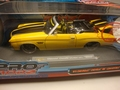 Chevrolet Chevelle  SS 1971 Convertible Cabrio Geel Yellow 1/18