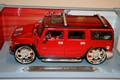 Hummer H2 TM  SUV Rood Red 1/18