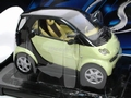 Smart  Groen + extra Body Zwart  black 1/18