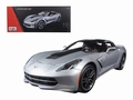 Chevrolet Corvette Stingray Zilver Silver Z51 1/18