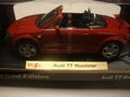 Audi TT Roadster Cabrio Rood Red 1/18