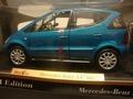 Mercedes Benz A Class Blauw  Blue   New 2001 version 1/18