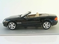 Mercedes SL Class World Premiere  IAA 2001 Zwart Black 1/18