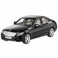 Mercedes Benz C Klasse Zwart Obsidian Black metallic 1/18