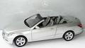 Mercedes Benz E Klasse Zilver indium silver Cabrio 1/18